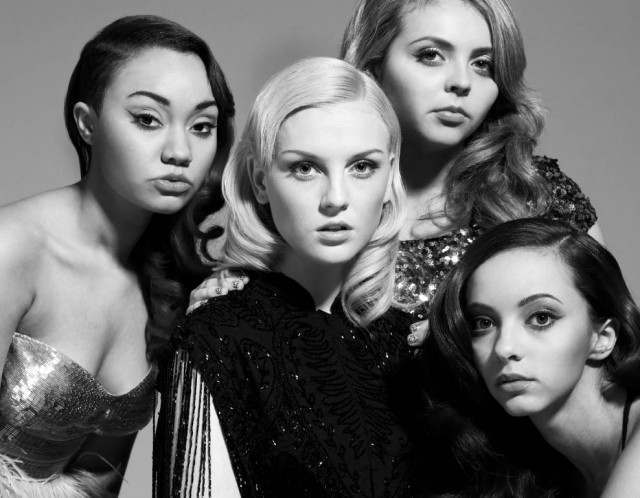 PHOTOGRAPHER LEE STRICKLAND TAKES PORTRAITS OF LITTLE MIX FOR GRAZIA