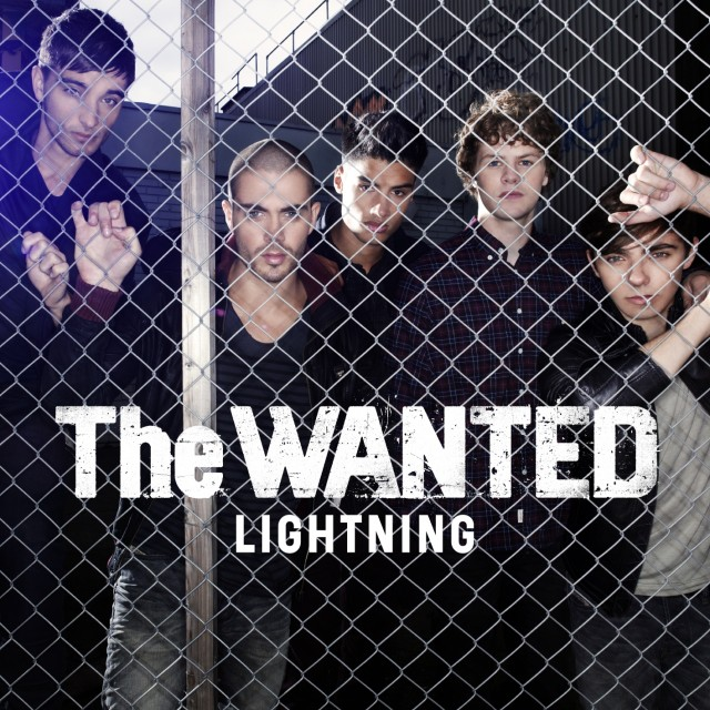 LEE STICKLAND PHOTOGRAPHS THE WANTED SINGLE COVER 'LIGHTNING'