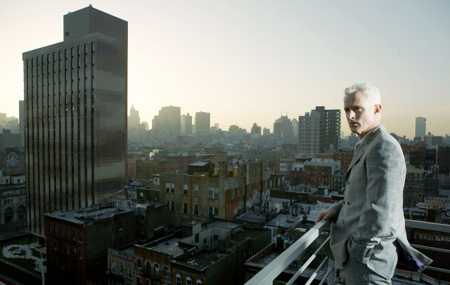 MAD MEN STAR JOHN SLATTERY PHOTOGRAPHED BY NEIL WILDER FOR THE TIMES MAGAZINE
