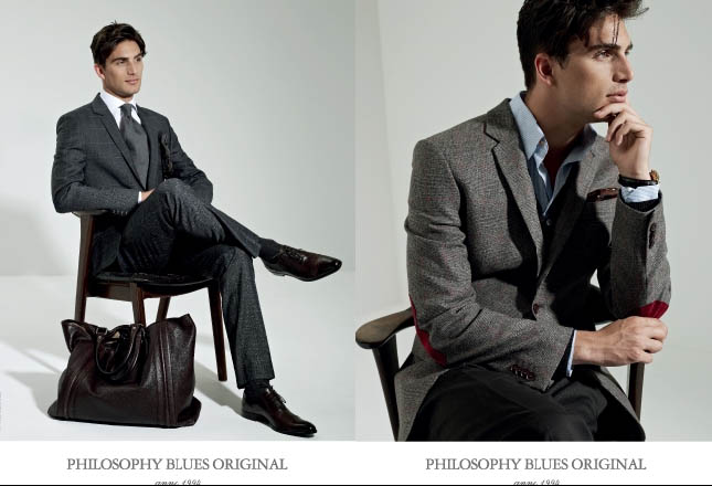 PETER CHRISTIAN SHOOTS A/W 11 CAMPAIGN FOR PHILOSOPHY BLUES ORIGINAL