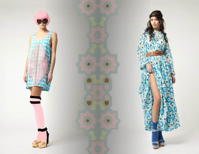 YVONNE SPORRE DESIGNS SPRING SUMMER 2012 COLLECTION FOR HER OWN RANGE YVONNE.S