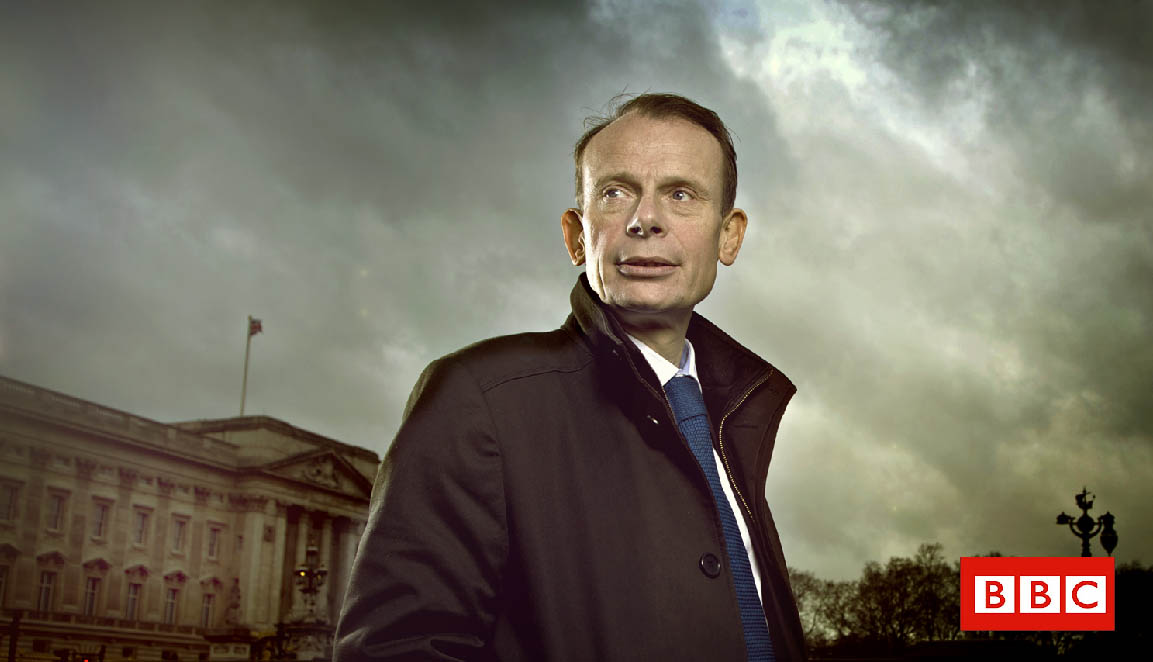 STEVE SCHOFIELD PHOTOGRAPHS ANDREW MARR FOR THE BBC