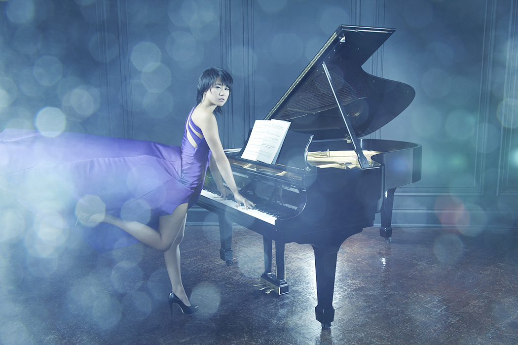 NEIL WILDER SHOOTS PIANIST YUJA WANG FOR THE OBSERVER MAGAZINE
