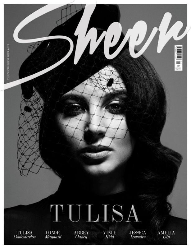 RAM SHERGILL SHOOTS TULISA FOR SHEER MAGAZINE