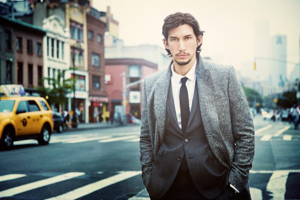 STEVE SCHOFIELD PHOTOGRAPHS ADAM DRIVER FROM THE HBO SERIES 'GIRLS' FOR AMERICAN VOGUE