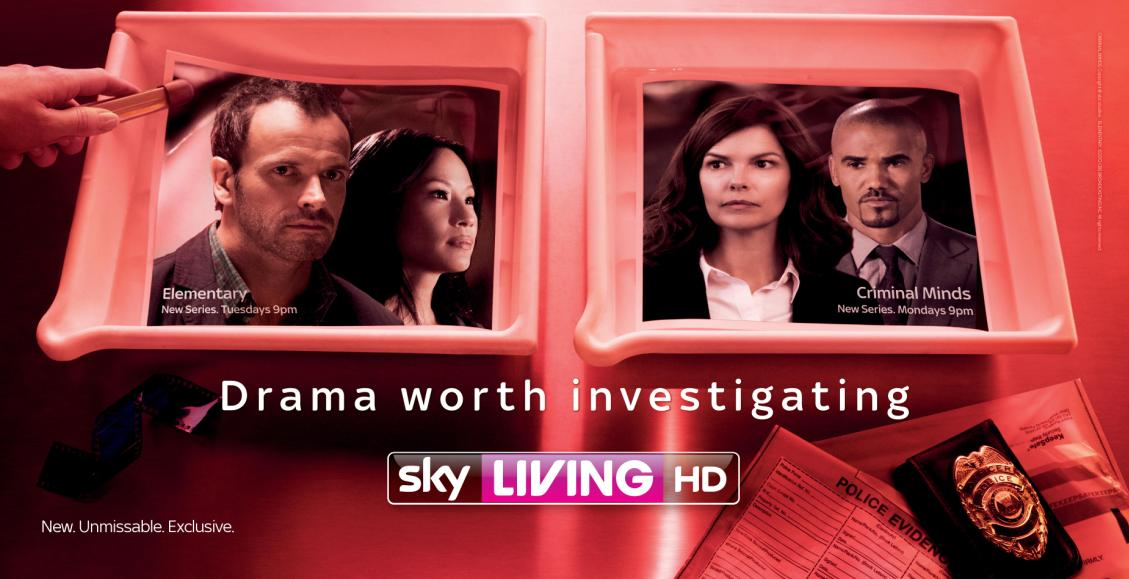 LEE STRICKLAND'S SHOOT FOR THE NEW SERIES OF 'CRIMINAL MINDS' AIRED ON SKY LIVING