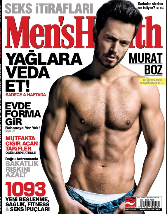RAM SHERGILL SHOOTS POPSTAR MURAT BOZ FOR MEN'S HEALTH TURKEY