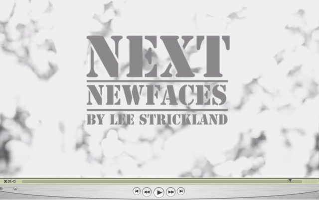 LEE STRICKLAND SHOOTS A SHORT FILM FOR NEXT MODELS