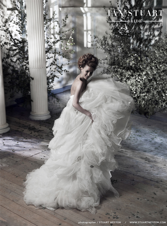 STUART WESTON SHOOTS IAN STUART BRIDAL WEAR CAMPAIGN