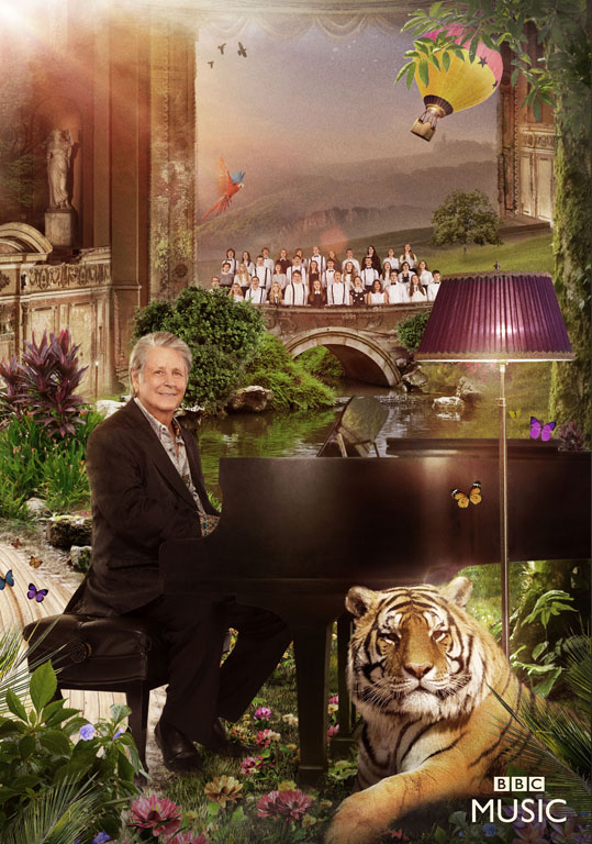 Steve Schofield shoots Beach Boys for BBC's Children in Need