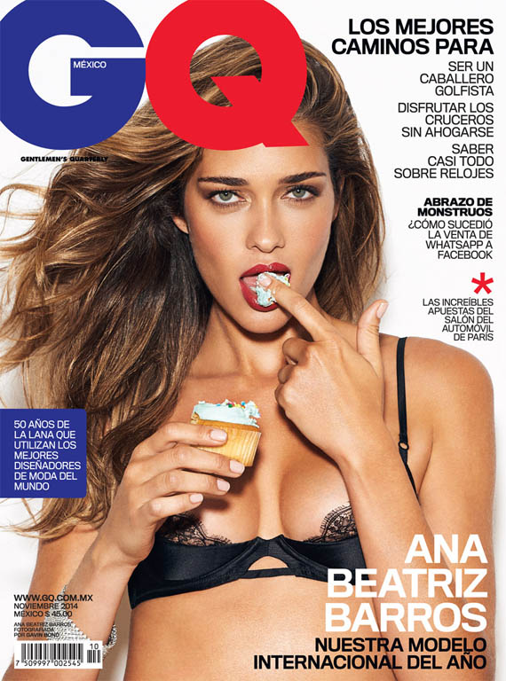 Gavin Bond photographed Ana Beatriz Barros for GQ Mexico