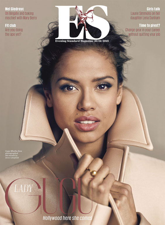 STEVE SCHOFIELD SHOOTS BAFTA NOMINATED ACTRESS GUGU MBATHA RAW IN LA