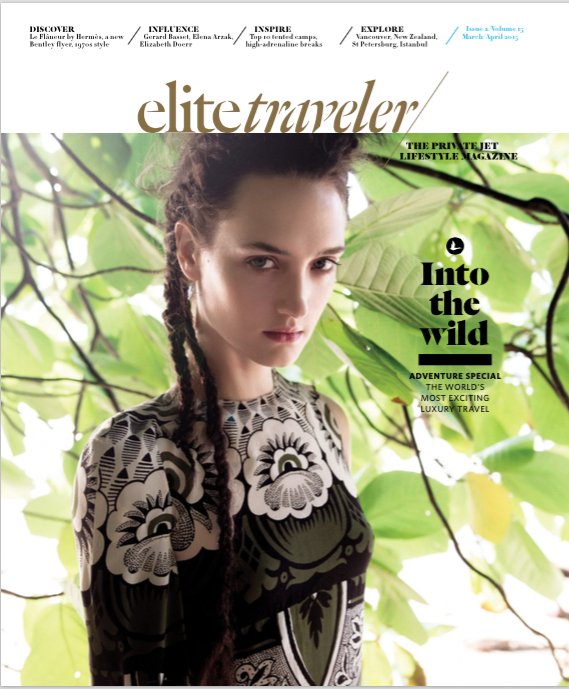 WILLIAM GARRETT SHOOTS FOR ELITE TRAVELER