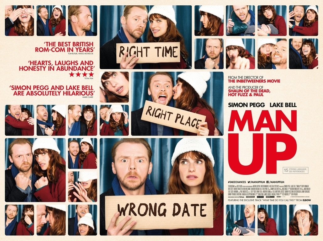 GAVIN BOND SHOOTS NEW FILM POSTER FOR 'MAN UP'