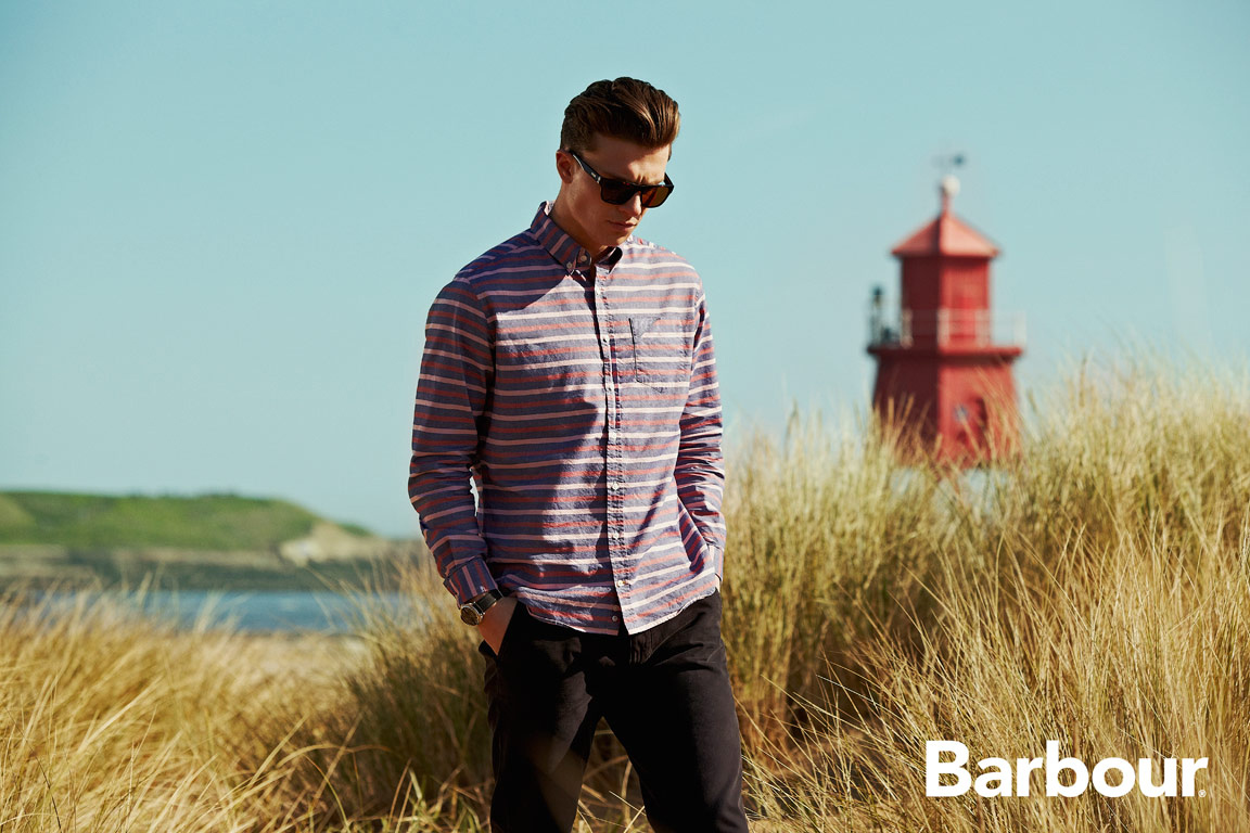 SEAN COOK SHOOTS THE COOL-COUNTRY-STROLL S/S '15 CAMPAIGN FOR BARBOUR