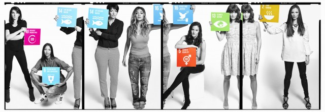 Gavin Bond Shoots The 'Global Goals' campaign in New York!