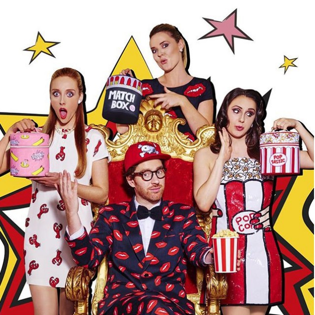 Steve Schofield shoots The Rodnik Band for Soap & Glory