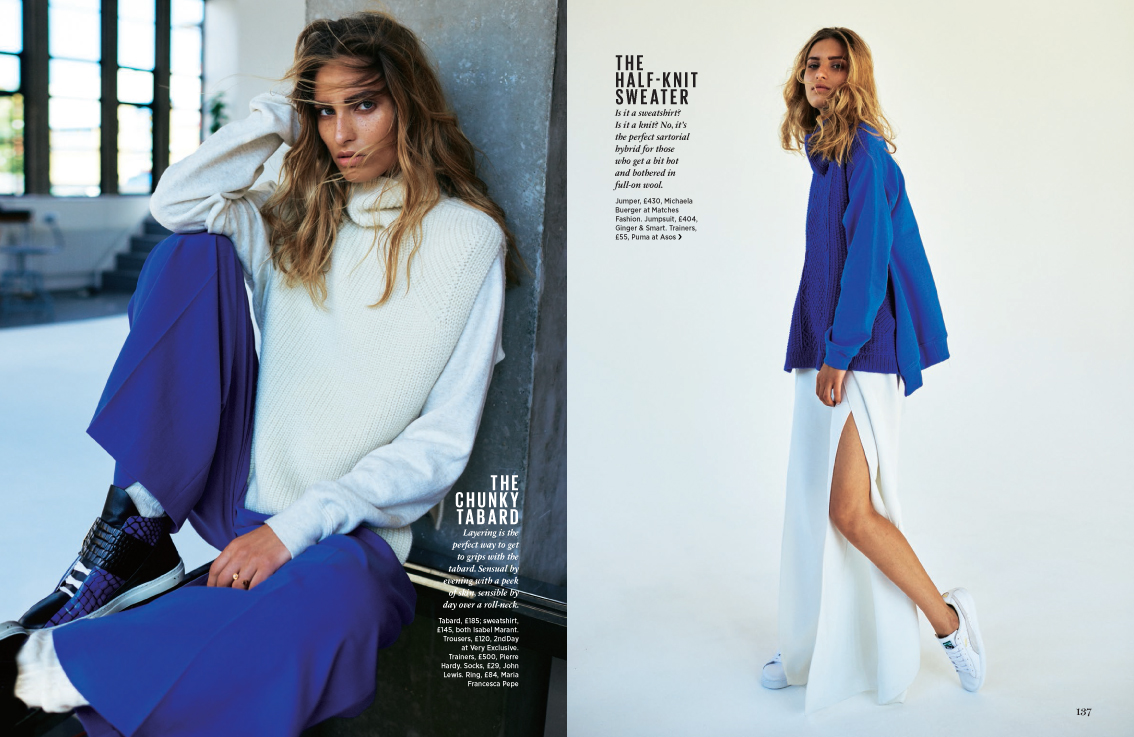 William Garrett shoots for Cosmopolitan Magazine