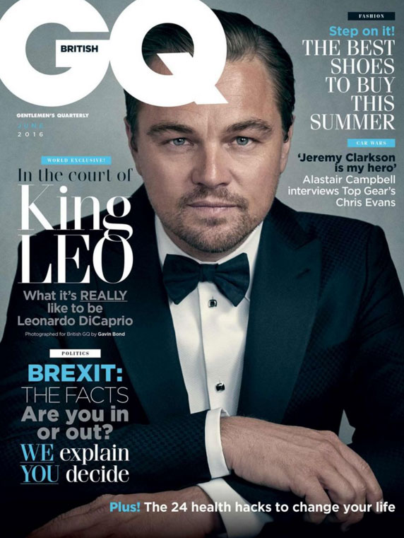 Gavin Bond's Cover Story for British GQ