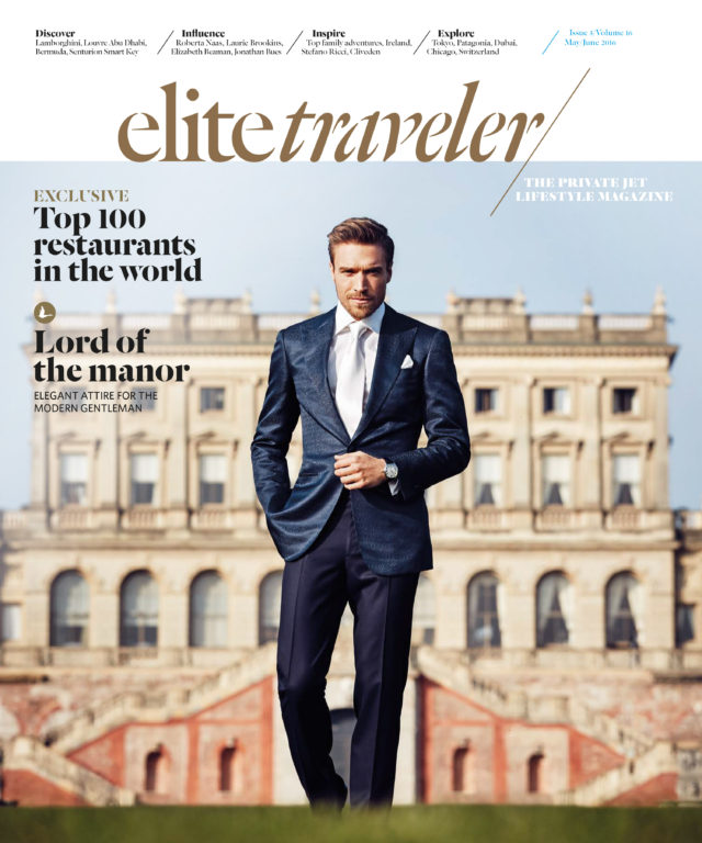 Sean Cook photographs Cover story for Elite Traveler