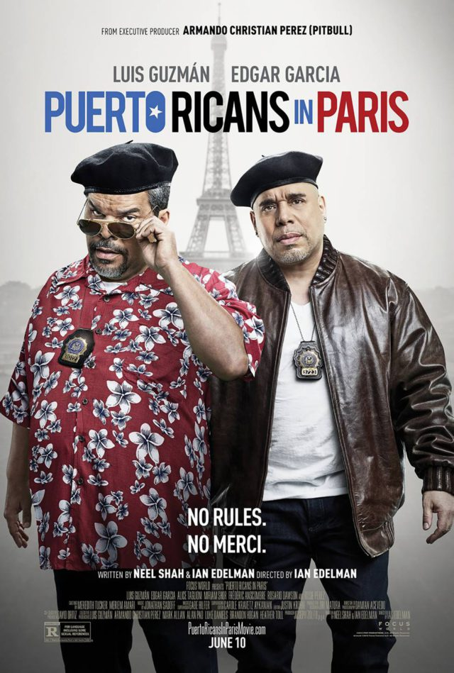 Puerto Ricans In Paris by Steve Schofield