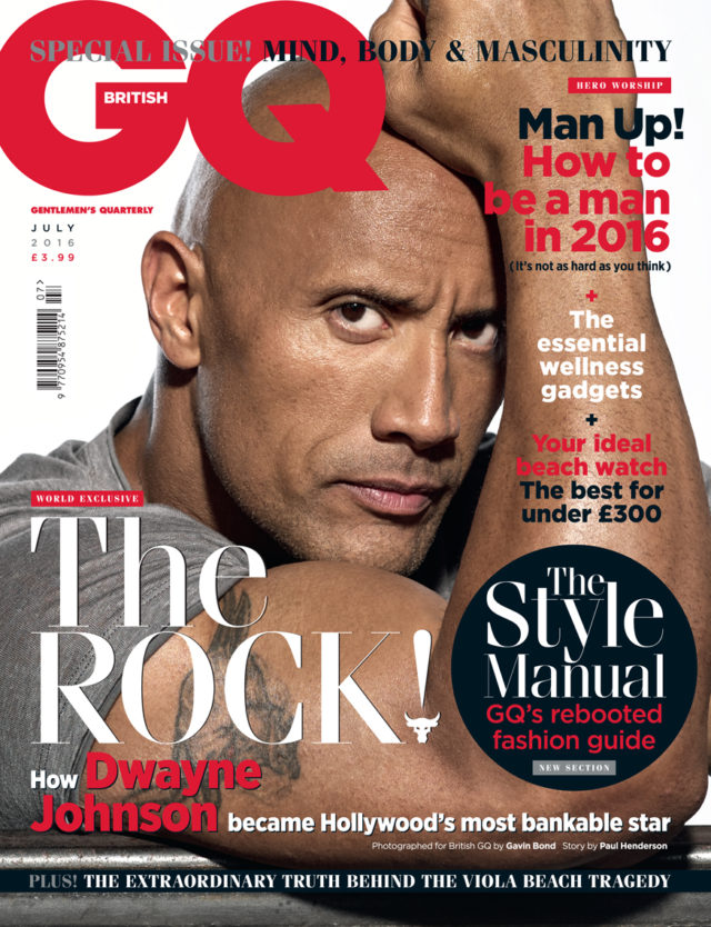 "Gavin Bond shoots Dwayne Johnson ""The Rock"""